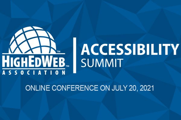 Accessibility Summit: Q&A with Erin and Karen, with HighEdWeb logo