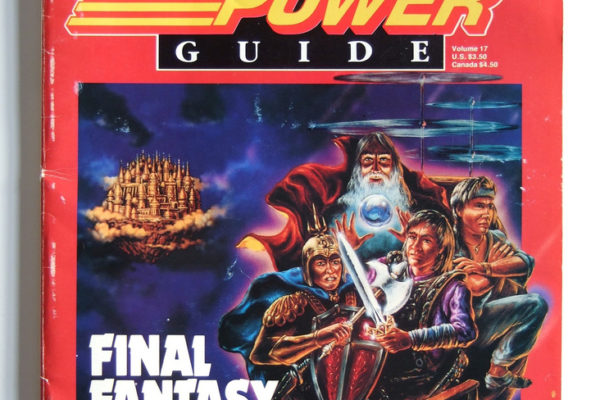 A Nintendo Power Final Fantasy strategy guide