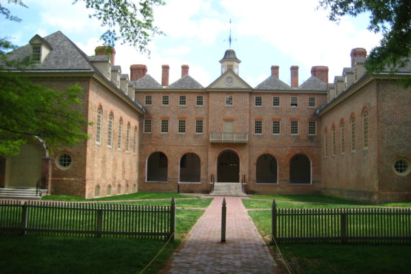 wren building on William and Mary's campus