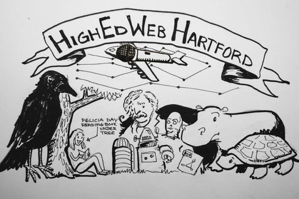 HighEdWebHartford illistration by Michelle LoGerfo