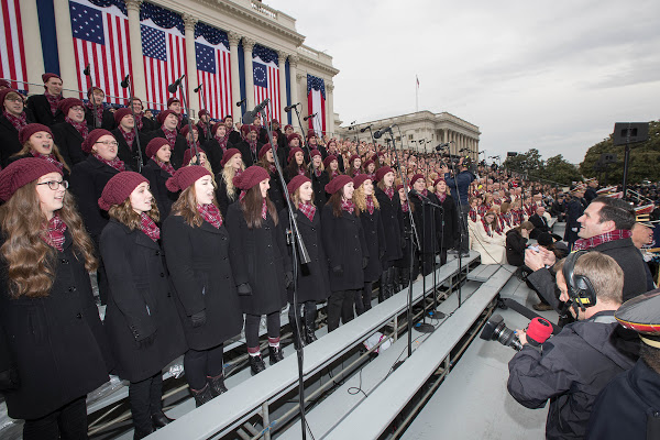 Missouri State Chorale at Presidential Inauguration