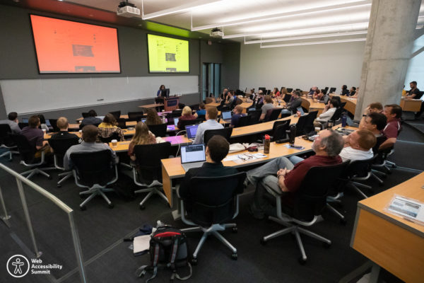2019 Web Accessibility Summit demonstration